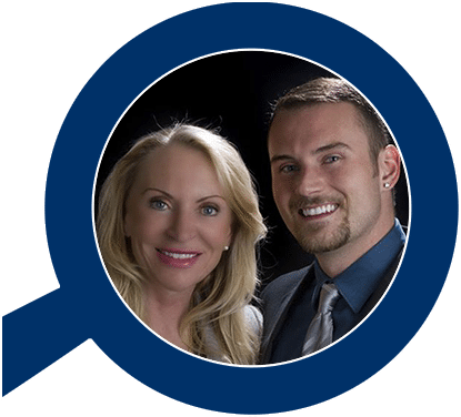 Denver Real Estate Agents- Ilona Gerlock & Danny Gerlock, 5280 5 star real estate agents in Denver, Colorado. Picture of Danny and Ilona.